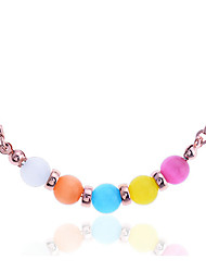 Jewelry Pendant Necklaces Party / Daily / Casual Stainless Steel / Opal 1pc Women Wedding Gifts