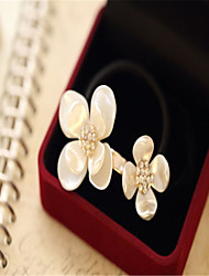 The new 2015 high-quality goods temperament bright pearl shells diamond flower hair bands