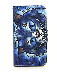 For Nokia Case Wallet / Card Holder / with Stand Case Full Body Case Cat Hard PU Leather Nokia Nokia Lumia 635