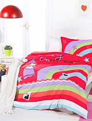 3 Piece Printed Duvet Cover  Set - Super Soft Classic Print HIGH QUALITY 100%  Premium Cotton Hypoallergenic