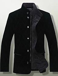 Jin Ning Men'S Large Size Gold Velvet Coat