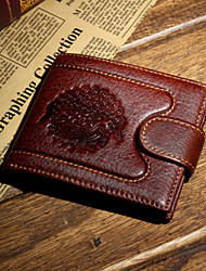 Formal / Casual / Professioanl Use / Shopping-Wallet / Card & ID Holder / Coin Purse-Cowhide-Men