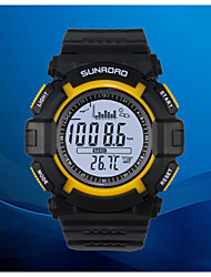 Sunroad FW120608 Waterproof Multifunction Digital Fishing Watch All In One 3ATM Barometer Altimeter Thermometer Record