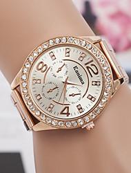 MONICV  fashion leisure steel band watch
