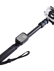 sinnofoto s2 extensible de mano monopie aluminio stick selfie de héroe 4 3 2 1