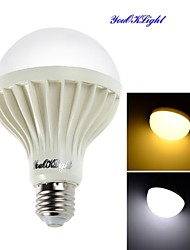 Ampoules Globe LED Décorative Blanc Chaud / Blanc Froid YouOKLight 1 pièce B E26/E27 9W 15 SMD 5630 700 LM AC 100-240 V