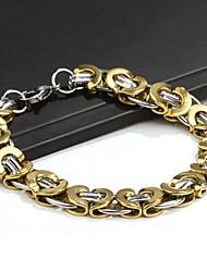 Miss ROSE® Men's Titanium Steel Bracelet(Random Color)