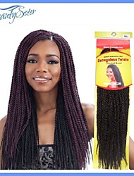 Marley Braiding Hair Afro Twist Braids Dreadlocks Crochet Braid Senegalese Twist Braid Hair 3Pack Lot