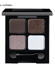 FULLILANS.Mei Four Color Eye Shadow. Distinct Perfect Makeup. 6 COLOR. F-0009  7.5g
