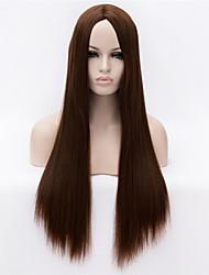 foutique moda na Europa e da peruca longa pode ser muito quente pode tingir a imagem a cores