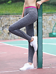 Running Pants / Tights / Leggings / Bottoms Women's Breathable / Stretch / Soft Nylon / Polyester Yoga / Pilates / Fitness Sports Stretchy