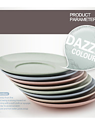 trigo palha AAD materiais pp pratos de jantar (quatro cores)