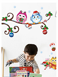 Christmas Wall Stickers Plane Wall Stickers  Wall Decor , PVC Removable