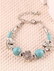 Fashion lady Light Green Handmade Bracelet Wristband Jewelry
