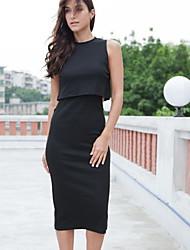 Women's Slim Dress (cotton)