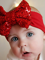Kid's Christamas Cute Bowknot Elastic Headband