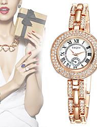 Mulheres Relógio de Moda Quartz Banda Relógio de Pulso