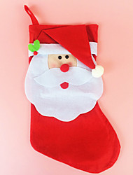 Happy Red Santa Claus Christmas Socks & Stockings For Christmas Party