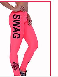 Yoga broek Broeken Ademend / Sneldrogend / wicking / Compressie / Strategisch strak aanvoelend Hoge Elasticiteit Sportkleding Dames