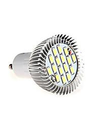 8W gu10 16xsmd5630 650lm warme / kühles weißes Licht LED-Licht-Scheinwerfer-Birne (ac85-265v)