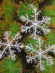 de tres día de la Navidad del copo de nieve de tres un conjunto