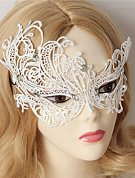 Masquerade Party White Lace Princess Half Face Mask Venice Nightclub Sexy Eye Wear