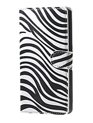 For Huawei Case / P9 / P8 / P8 Lite Wallet / Card Holder / with Stand Case Full Body Case Lines / Waves Hard PU Leather HuaweiHuawei P9 /