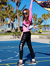 Running Clothing Sets/Suits / Compression Clothing Women'sBreathable / Ultraviolet Resistant / Quick Dry / Anatomic Design /
