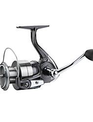 Haibo 4000 Size 4 Bearing Spinning Fishing Reel Gear Ratio 5.2:1 Exchangable Fresh Water Salt Water Aluminum Spool