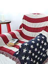 Tecido Vermelho,Jacquard Personagens 100% Algodão cobertores 130cm*180cm