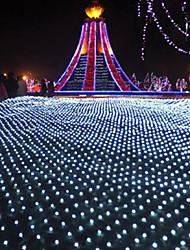 Lumière de Noël net des filets étanches barres lampes cascade de scintillement de décoration des noces imperméable lumière 1.5 * 1.5m