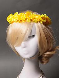 Women's / Flower Girl's Imitation Pearl Fabric Headpiece - Wedding Special Occasion  Wreaths 1 Piece