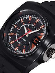 Vogue Luminous Analog Silicone Band Quartz Watch Men Fashion Casual Outdoor Sports Watches Boys Luxury Wrist Watch Cool Watch Unique Watch