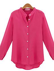 Women's Solid  Shirt (linen)