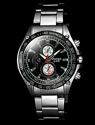 Men's Wrist watch Quartz Alloy Band Silver Brand
