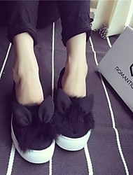 Women's Shoes Fabric Platform Styles Loafers Casual Black / Gray