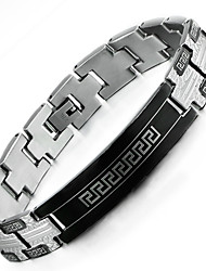 Boho Jewelry Mens Fashion Elegant Link Chain Bracelet,Ceramic Plated
