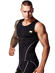Running Tank / Tops Men's Wearable / Compression / Lightweight Materials / Soft / Sweat-wicking TeryleneYoga / Pilates / Fitness / Racing
