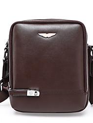 Men PU Formal / Casual / Office & Career / Shopping Shoulder Bag / Satchel Brown / Black