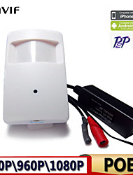 1080P\960P\720P POE Ip Camera Pir Network Camera Motion PIR Detector Hidden Camera Built in Microphone