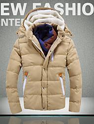 Повседневный - MEN - Пальто и жакеты ( Хлопок / Смешанная хлопковая ткань Подставка - Длинный рукав