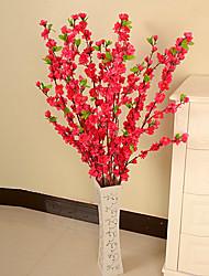 Soie / Plastique Prune Fleurs artificielles