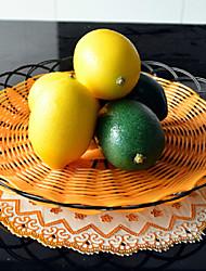 Plástico Fruta Flores artificiais