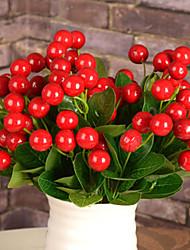 Mousse de polystyrène Plantes Fleurs artificielles