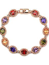 Bracelet- enAlliage-Vintage / Mignon / Soirée / Décontracté-Lien / Chaîne
