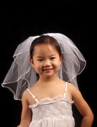 Wedding Veil Two-tier Veils for Short Hair