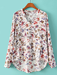 Women's Print   Blouse (cotton)