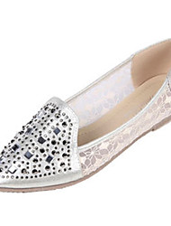 Women's Shoes Synthetic / Glitter Flat Heel Ballerina / Pointed Toe / Flats/ Office & Career / Casual /Leisure Shoes