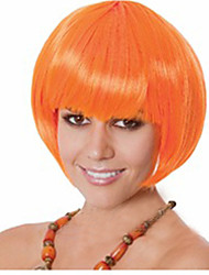 Manufacturers Selling Wholesale Orange Color BoBo Head Is Euramerican Style Wig Hot Style