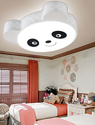 Remote Control Flush Mount / LED Ceiling Light Modern/ Bedroom/ Kids Room/ White+Warm White Light With Remote